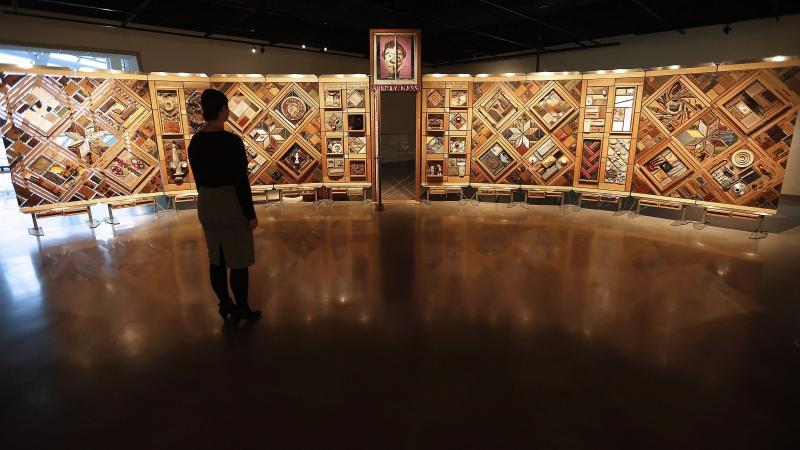 The National Centre for Truth and Reconciliation will reveal the names of 2,800 children who died in residential schools at a ceremony in Ottawa on Monday. Visitors to the Canadian Museum for Human Rights in Winnipeg can view a new exhibit called The Witness Blanket Monday, December 14, 2015. The 12-metre-long installation is made of more than 800 items collected from the sites and survivors of residential schools, in the style of a woven blanket. THE CANADIAN PRESS/John Woods