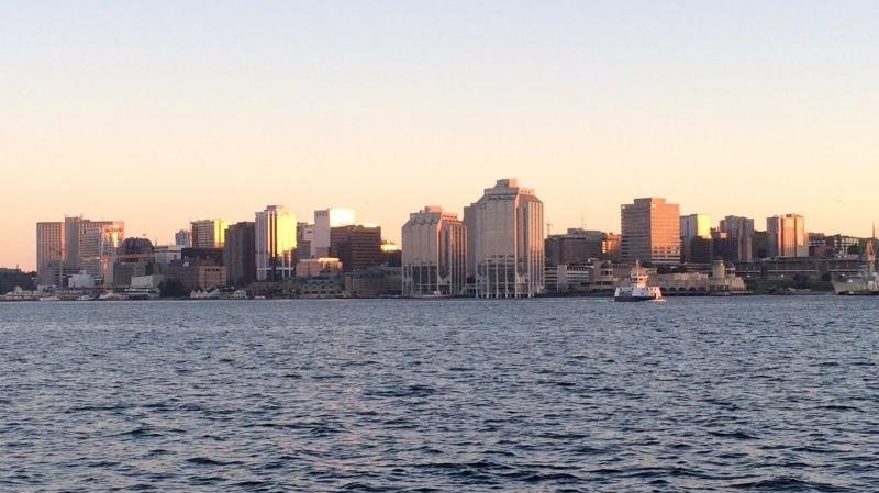 The Halifax skyline is seen from Dartmouth in this photo taken on June 15, 2018. (Andrea Jerrett/CTV Atlantic)