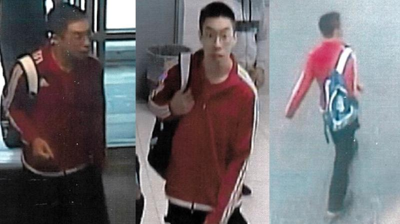 Toronto police have released the photos of a suspect who allegedly sexually assaulted a girl at an Etobicoke pool in September. (Toronto police)