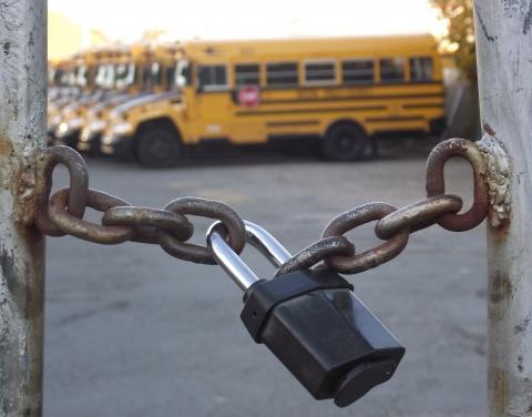 school-locked