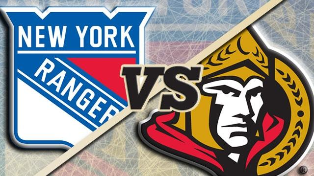 Ottawa Senators vs. New York Rangers