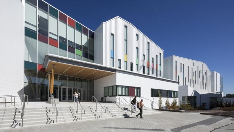 The Emily Carr University campus is seen in this photo provided by the university.