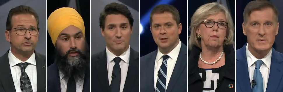 CKTB - NEWS - English Leaders Debate 2019