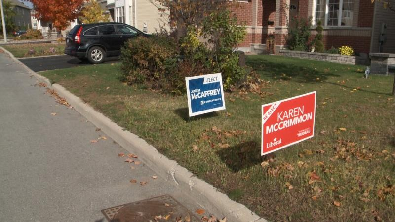 The City of Ottawa has put all election campaigns and volunteers on notice to remove signs from public and private property within 48 hours of election day.