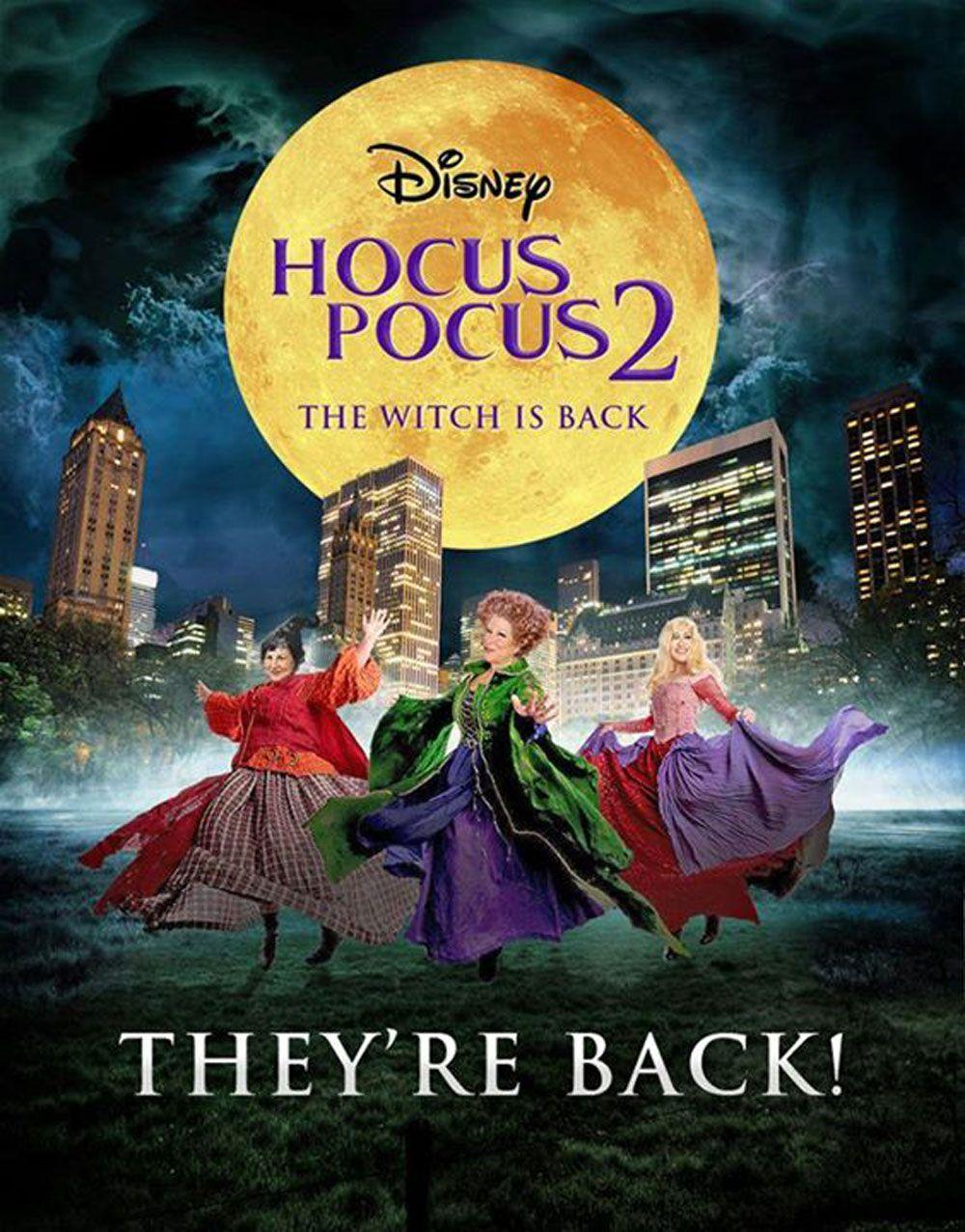 HOCUS POCUS 2 IS OFFICIALLY IN THE WORKS!