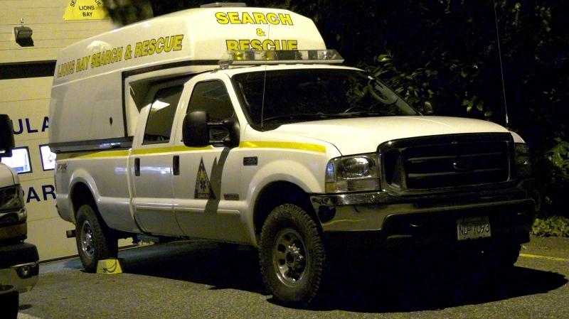 Search and rescue crews are looking for a lost hiker near Lions Bay.
