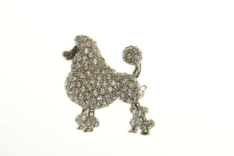 A crystal poodle was found as part of a recent break-and-enter investigation in New Westminster. (New Westminster police)