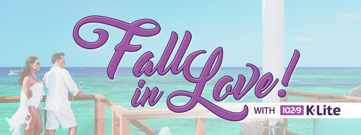 Fall in Love with 102.9 K-Lite - Win a trip to Jamaica