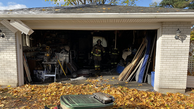 Niagara-On-The-Lake Firefighters make quick work of garage fire - Newstalk 610 CKTB (iHeartRadio)
