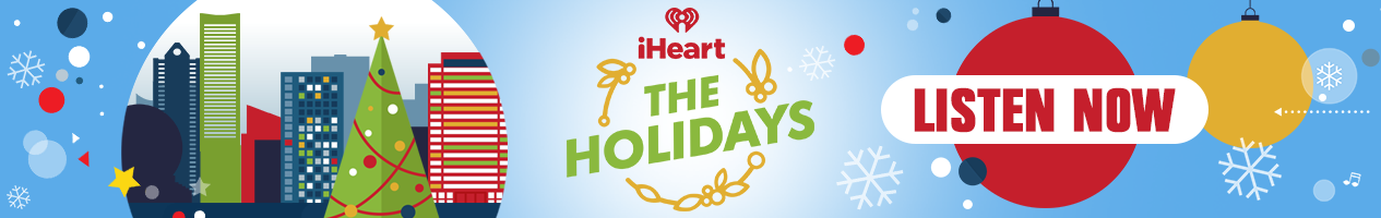 iHeart The Holidays - Banner
