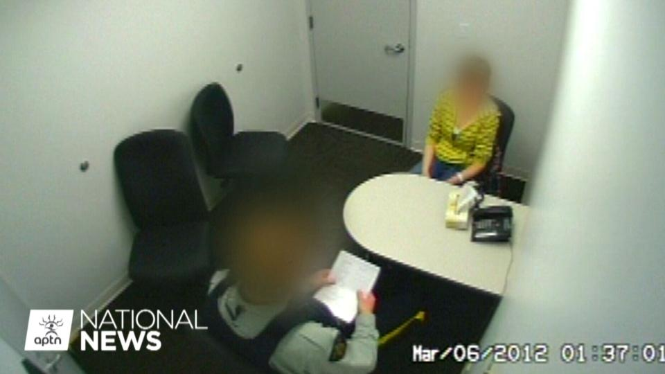 RCMP interrogation vidoe