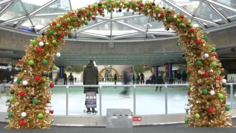 A favourite Vancouver winter tradition kicked off today, as the Robson Square Ice Rink officially opened and skaters took to the ice.