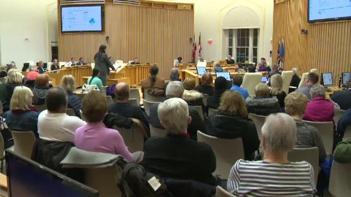 Public delegations were heard at a Cambridge council meeting Monday night. (CTV Kitchener)