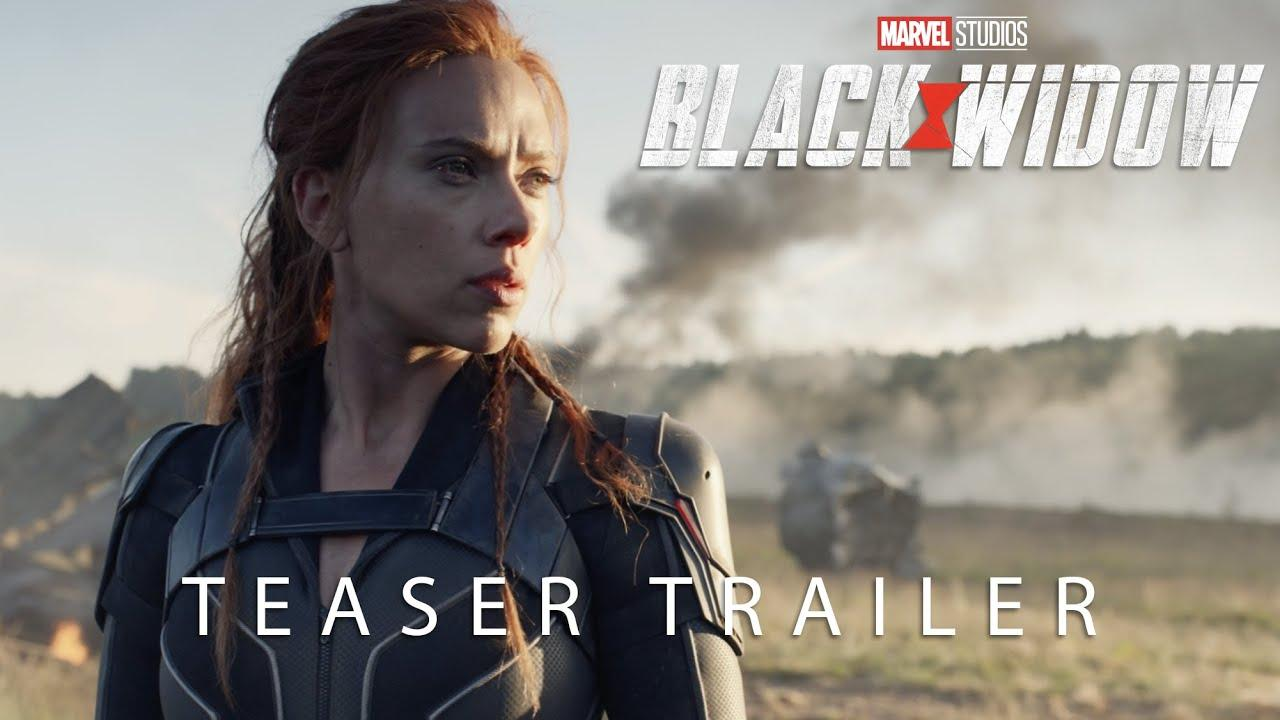 black widow teaser trailer