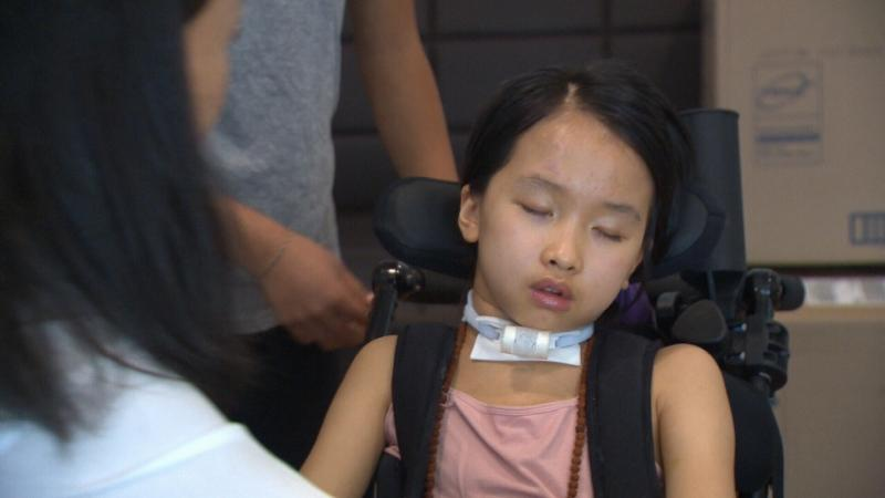 Accident victim Leila Bui. (CTV Vancouver Island)