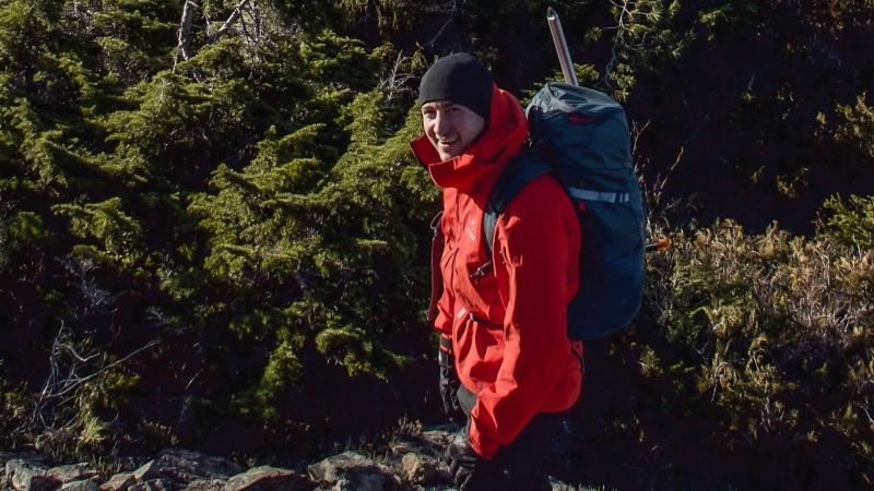William Vant Erve, 29, died while hiking near Ucluelet on Wednesday, Nov. 27. (19 Wing Comox)