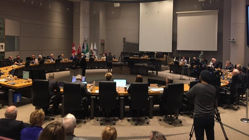 Last council meeting of the term at Ottawa City Hall on Wednesday November 28, 2018.