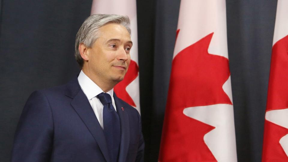 Foreign Affairs Minister Francois-Philippe Champagne makes announcement in Ottawa Friday January 10, 2020