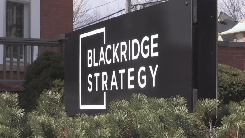 The headquarters of Blackridge Strategy in London, Ont.
