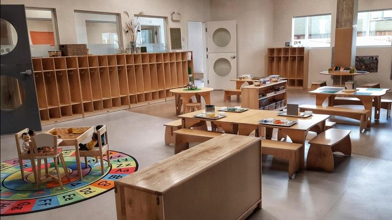 The new government-funded child care spaces are coming to Lulu's Kids Corporation following facility expansions: (Lulu's Kids Corporation / Facebook)