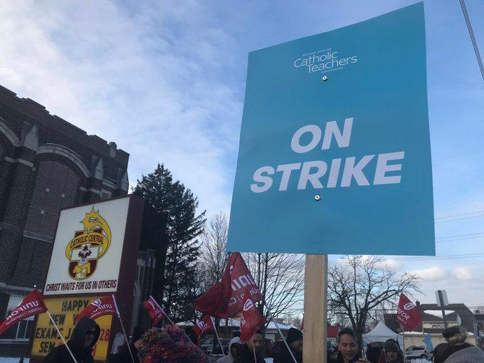 AM800-NEWS-CATHOLIC-TEACHERS-STRIKE-JANUARY-2020