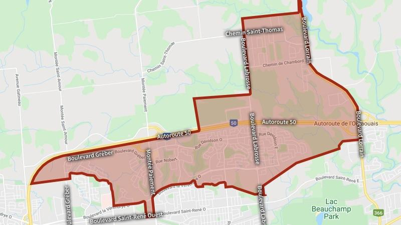 The city of Gatineau issued a boil water advisory on Thursday affecting 24,000 residents. (City of Gatineau)