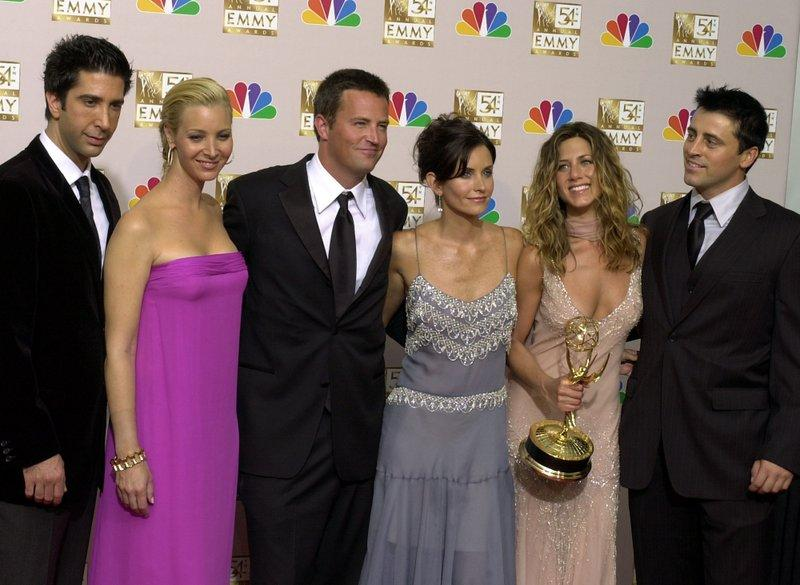 Friends cast at 2002 Emmys