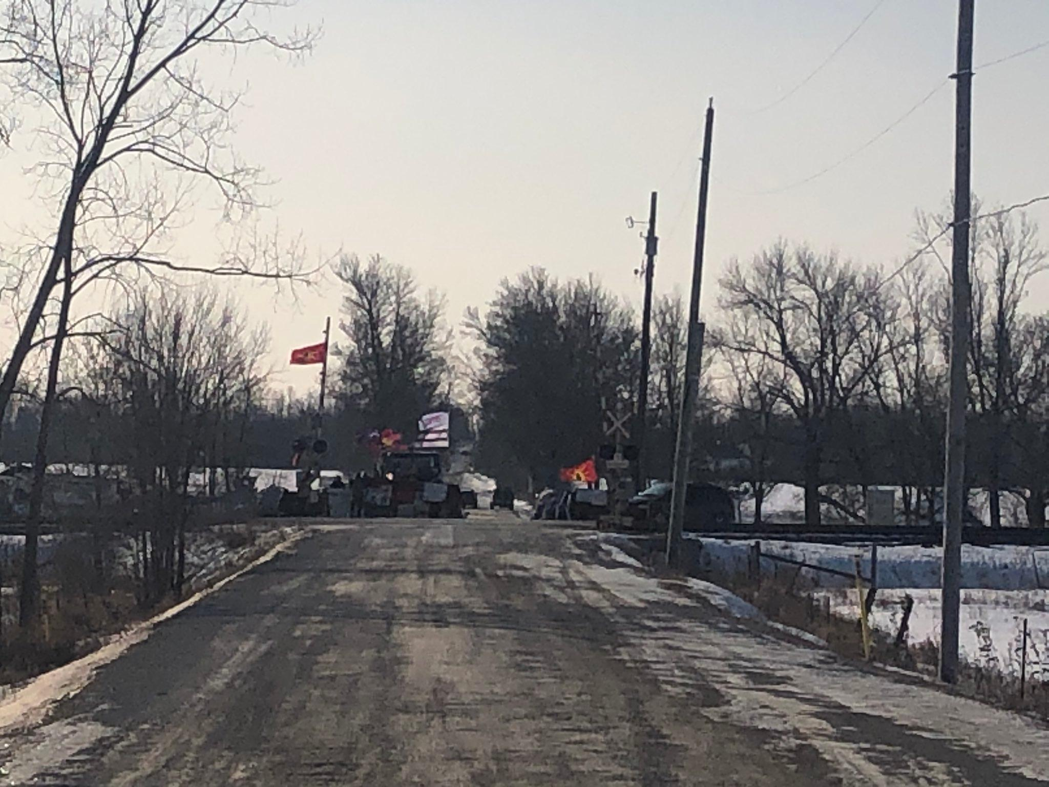 Tyendinaga blockade, Sunday Feb 23, 2020
