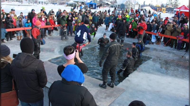 CTV Morning Live Edmonton's Rob Williams taking the polar plunge in 2018. Williams will be participating in the Minneapolis fundraiser this weekend with his former colleague Ian Leonard.