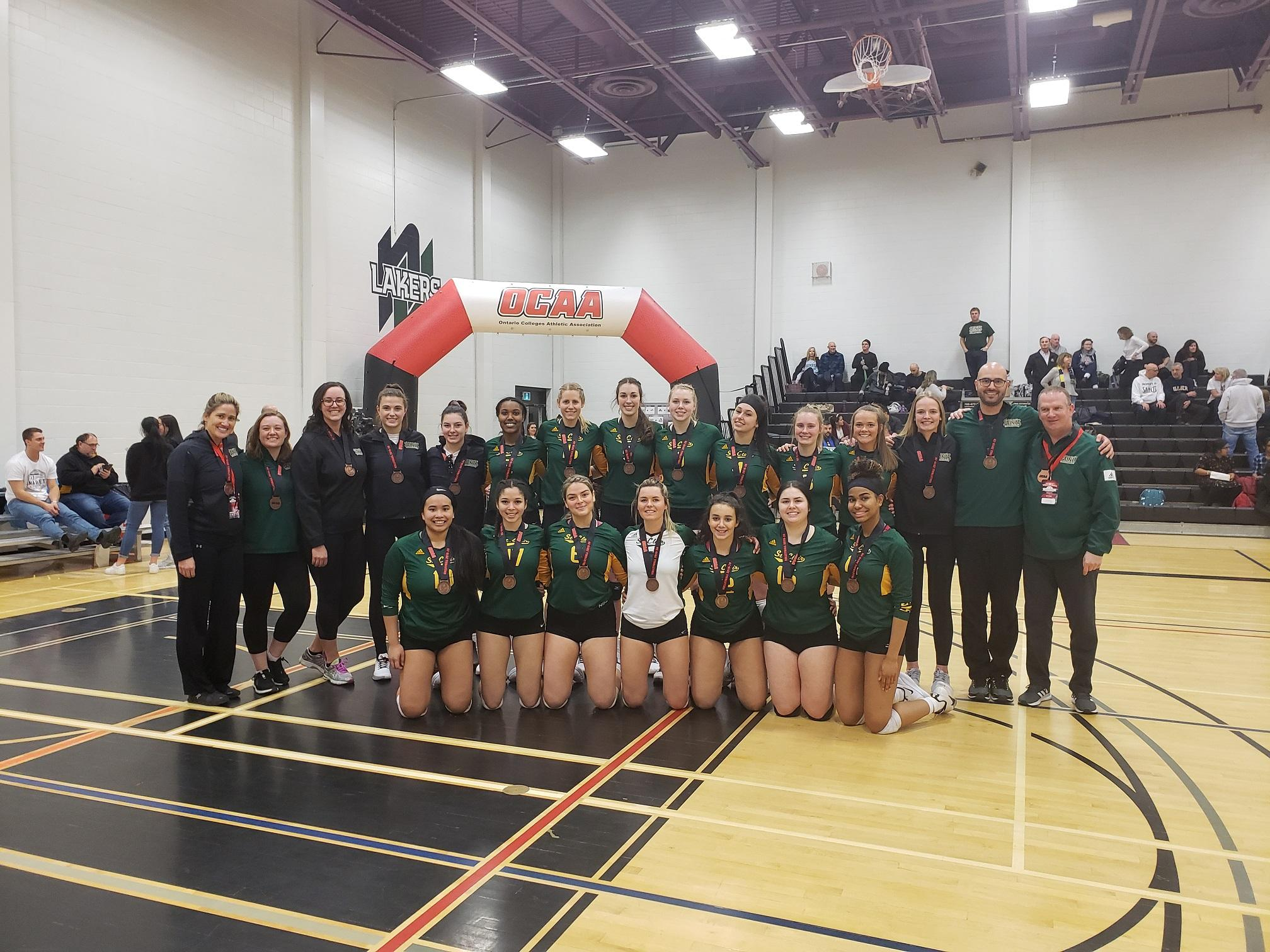 AM800-SPORTS-St-Clair-College-Saints-womens-volleyball-OCAA-bronze-February-29-2020