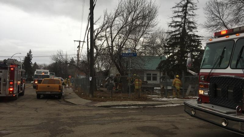 Fire crews were called to the 1000 block of Wascana St. for a house fire on Wednesday afternoon.