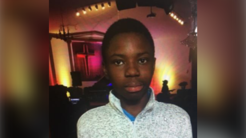 14-year-old boy Shammah Jolayemi seen in this undated photo was last seen on Wednesday morning in the area of Jane Street and Driftwood Avenue. (Toronto police handout)