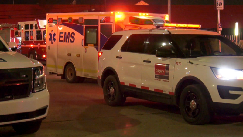 A man is in serious but non-life threatening condition following a Friday stabbing near the Chinook Mall LRT station.