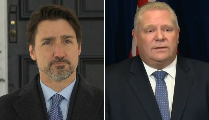 Covid 19 Trudeau And Ford Holding News Conferences Today