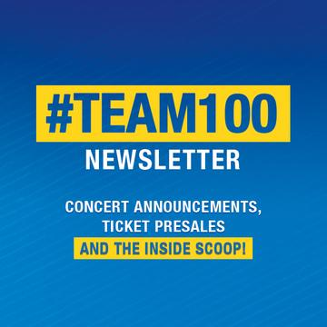 Sign up to receive the #Team100 Newsletter from C100.