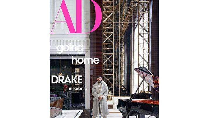image for Drake's Toronto Mansion Featured In 'Architectural Digest'