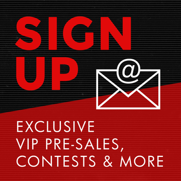 Get the latest music news, pre-sale offers + more!