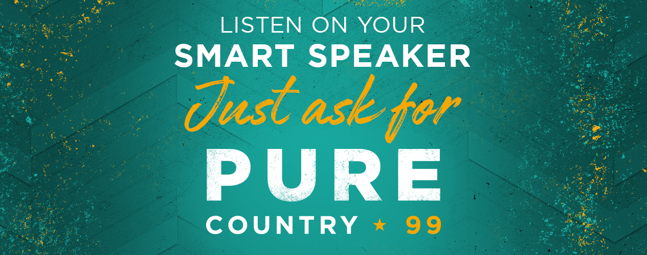 PURE COUNTRY 99 - Listen on Your Smart Speaker
