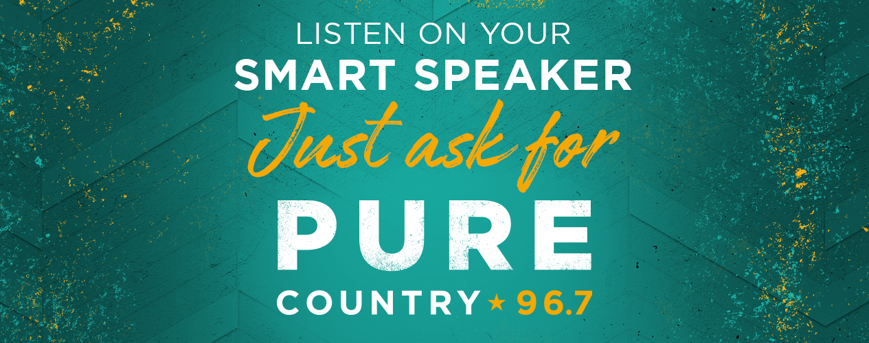 PURE COUNTRY 96-7 - Listen on Your Smart Speaker