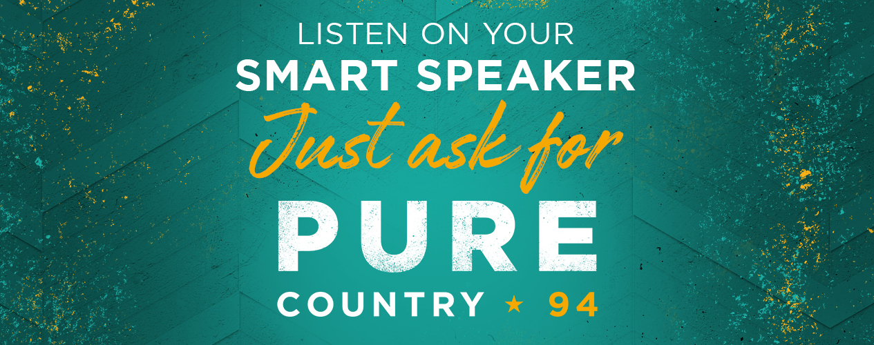 PURE COUNTRY 94 - Listen on Your Smart Speaker