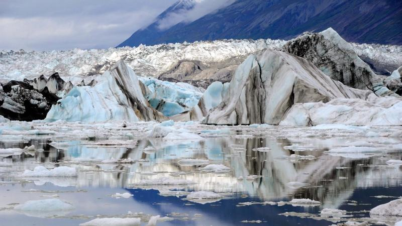 A view of the Lowell Glacier in Kluane National Park, Yukon on Friday, August 26, 2011. THE CANADIAN PRESS/Sean Kilpatrick