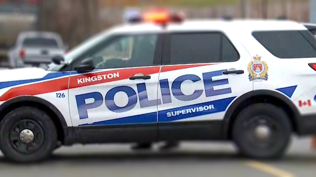 An undated file photo of a Kingston police cruiser.