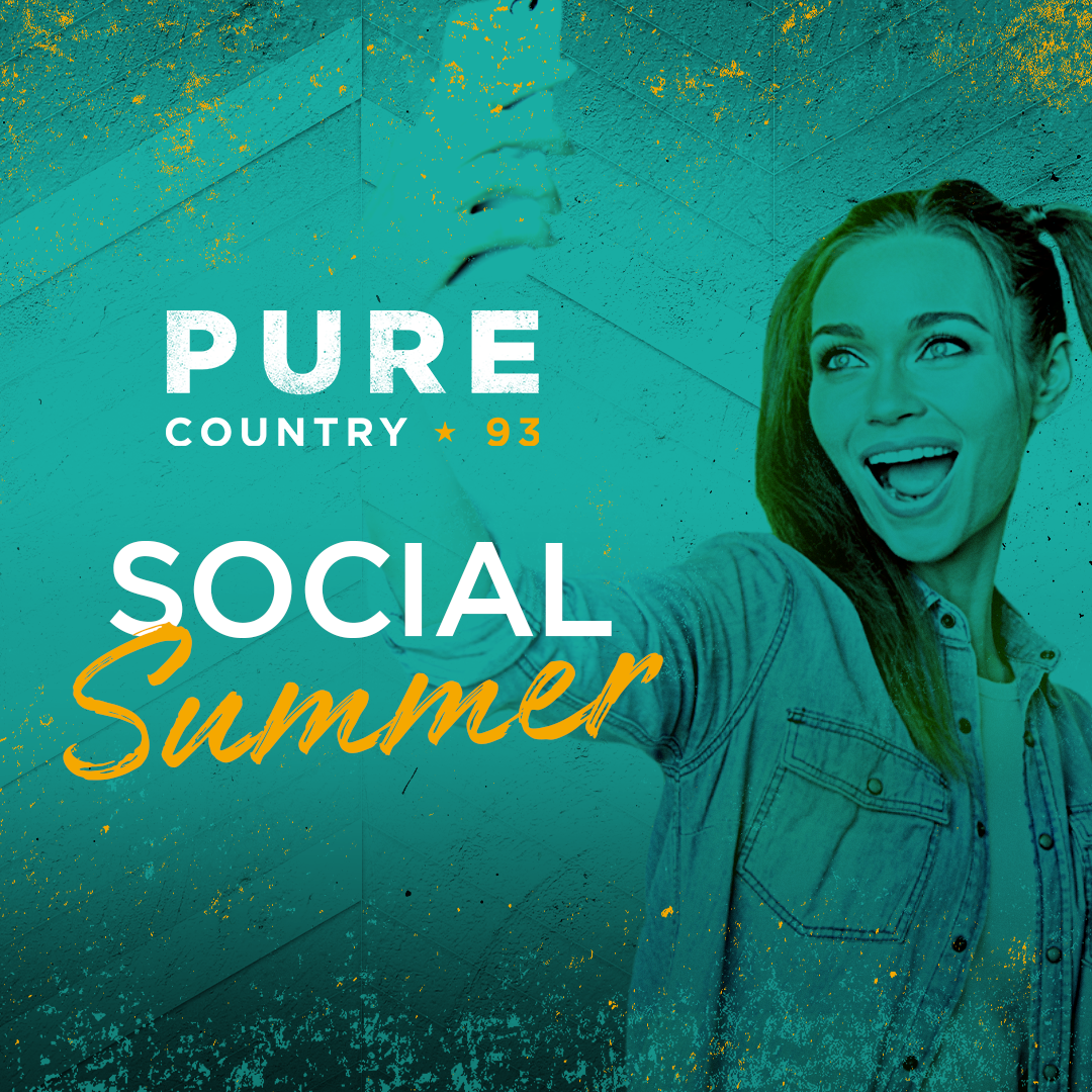 Pure Country 93 - Social Summer - 1080 x 1080 - Instagram