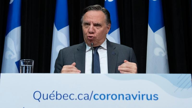 Quebec Premier Francois Legault. (File: THE CANADIAN PRESS/Jacques Boissinot)