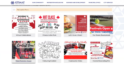 Kitimat Canada Day Events