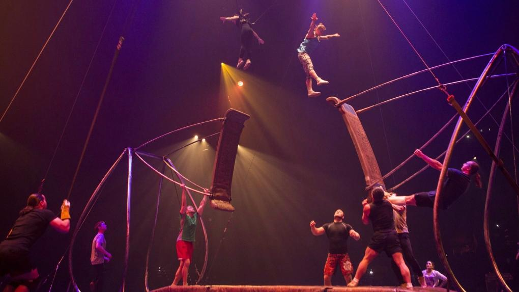 Twas the Night Before...' not as stirring as the usual ...   Cirque Du Soleil