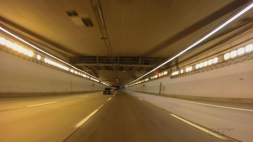 Lafontaine tunnel (2), (CTV News)