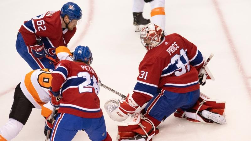 Habs Eliminated In Spirited Game 6 Loss 3 2 To Flyers