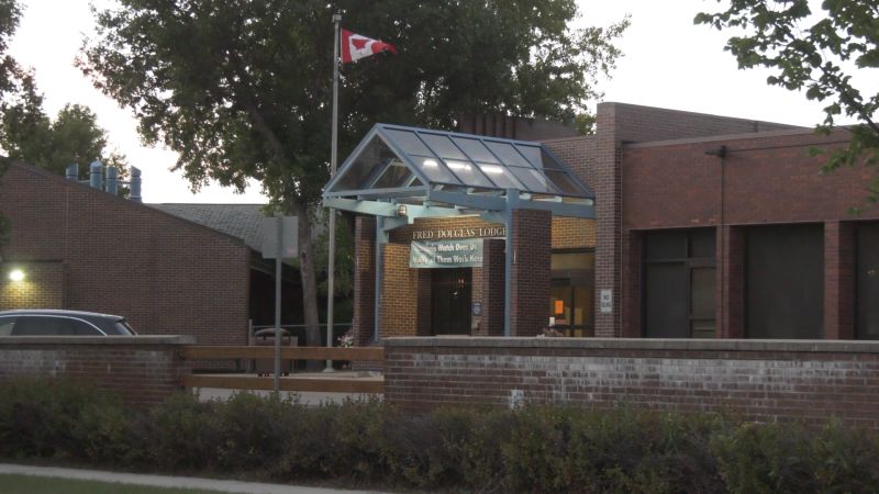 The Fred Douglas Society confirmed an employee had at the Fred Douglas Lodge, located at 1275 Burrows Avenue, had tested positive for COVID-19. (Source: Touria Izri/ CTV News Winnipeg)