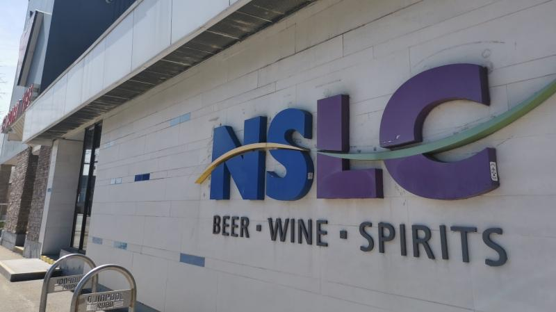 The NSLC is seen on Quinpool Road in Halifax on April 30, 2020.